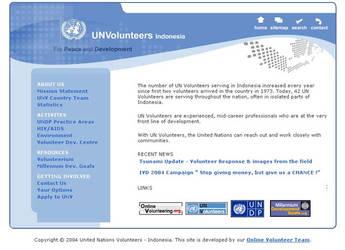 UN Volunteers Indonesia