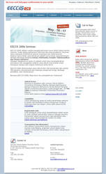 EECCIS 2006 main page