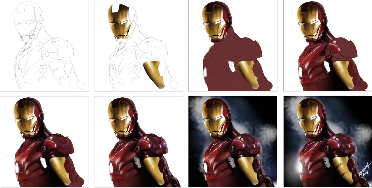 Iron Man Tutorial By Bora Sahin On Deviantart