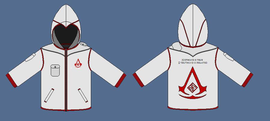 Assassins hoodie 2 by apaskins1991
