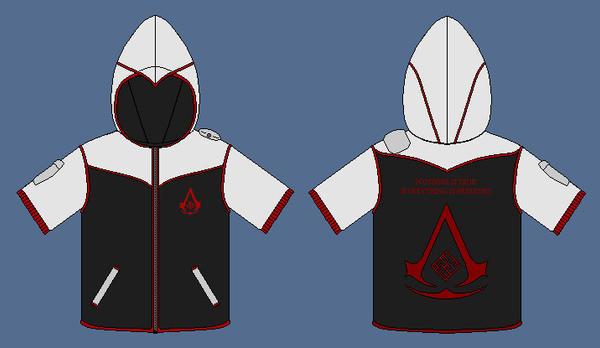 Custom Assassins Creed hoodie by apaskins1991