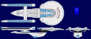 Excelsior Class Refit Battlecriuser (UPDATED2)