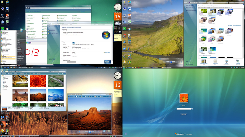 Desktop screenshot 6 16 15 vista7 we meet again by for Door to windows