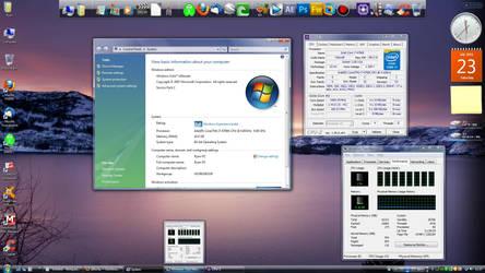 Desktop Screenshot: Core i7 4790k w/ Vista SP2 by a11ryanc