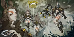 Dusty rabbit - auction  CLOSED 