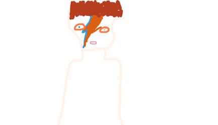 David Bowie by WizardPolice