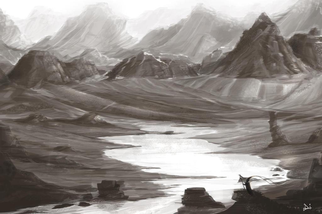 Landscape - 6 by riddleman