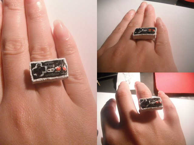 Classic nintendo ring by mikiangel001 on DeviantArt