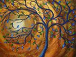 Peacock Tree by lightnessoflife