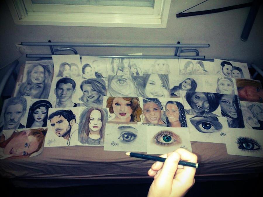 one pencil.. by ayeletv
