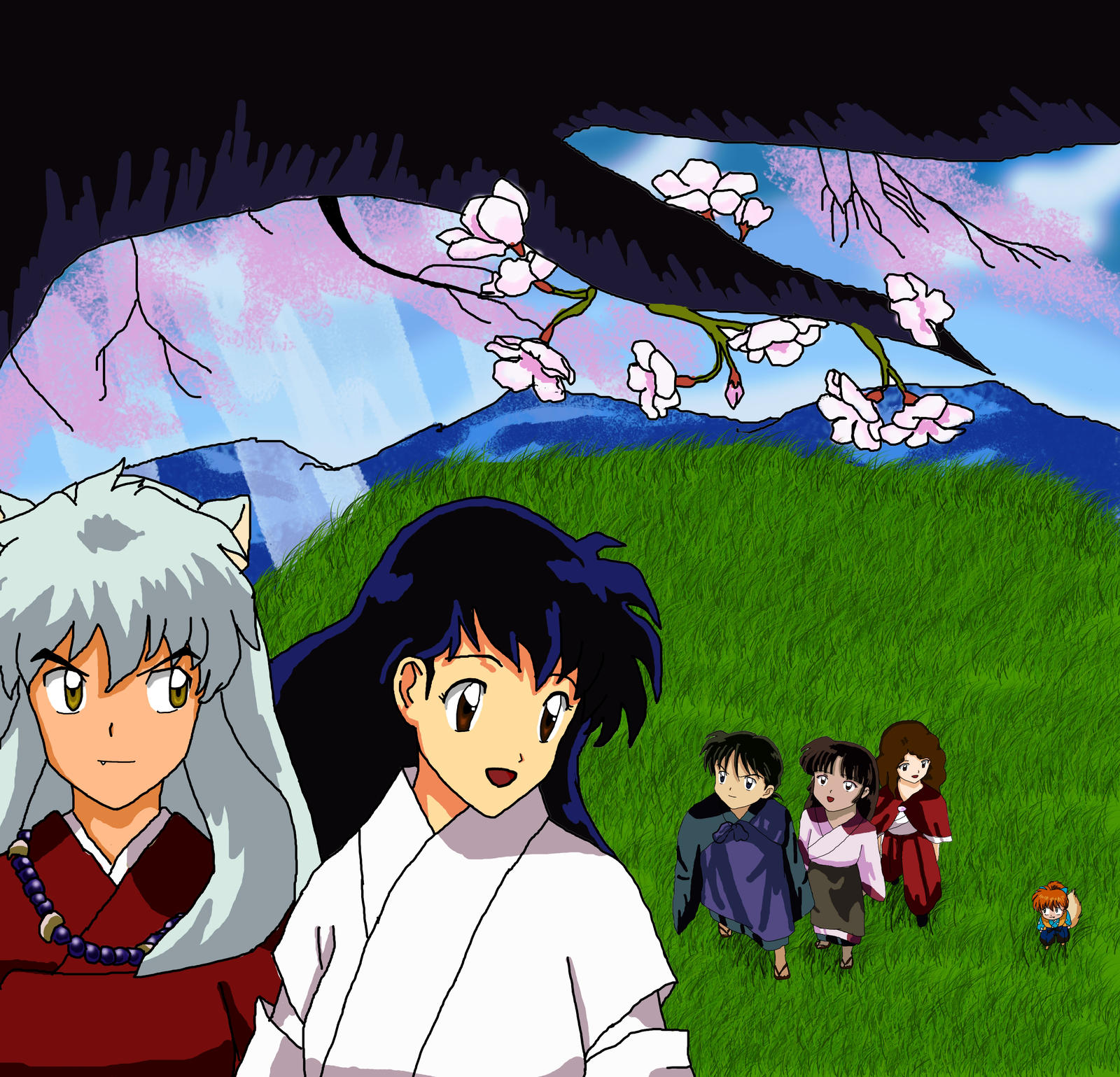 Inuyasha Movie Five! Poster 3 By Ayeletv On DeviantArt