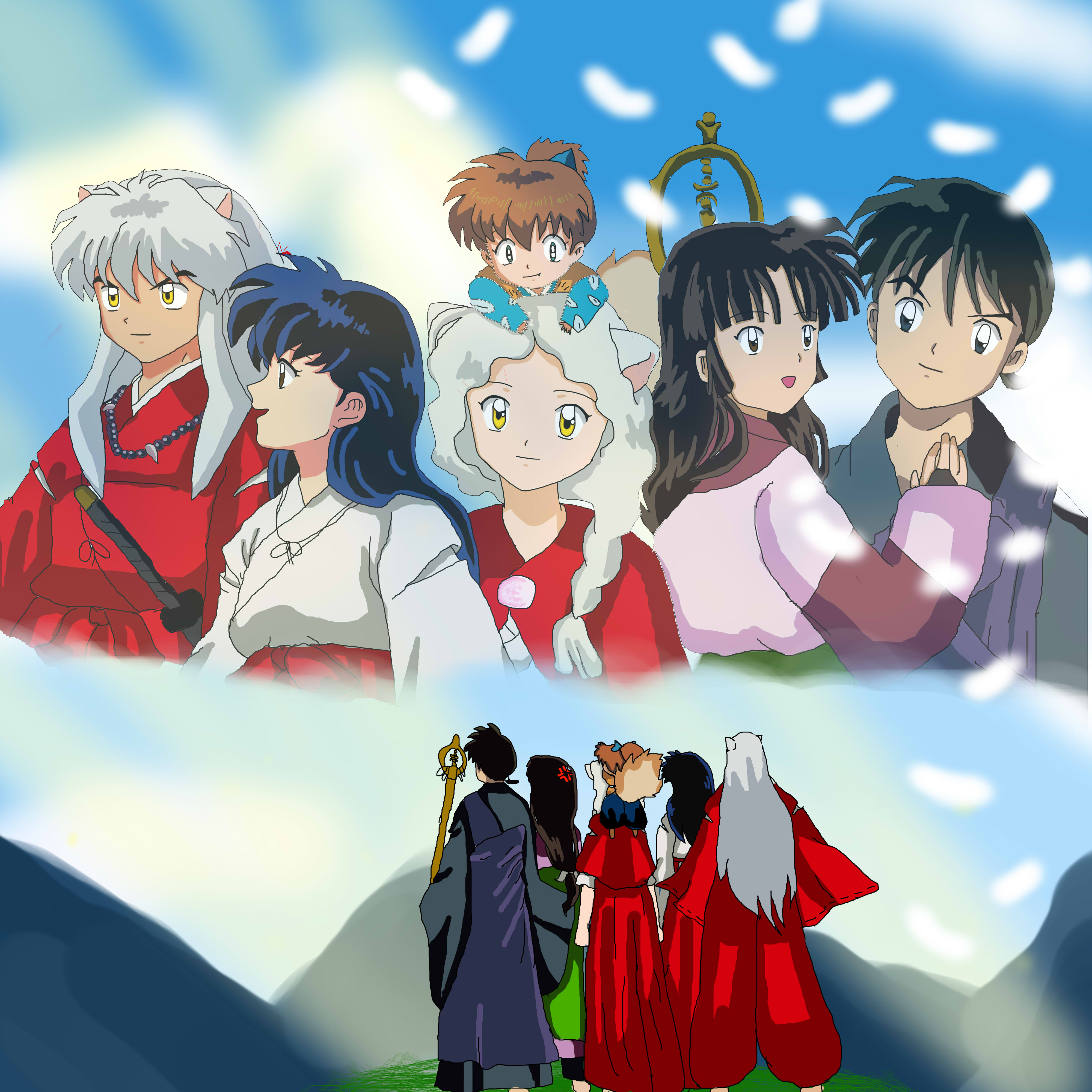 Inuyasha Movie Five Poster