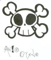 Skull by gochikku-ekibyougami