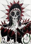 Reina De La Muerte by LorenaMontaperto