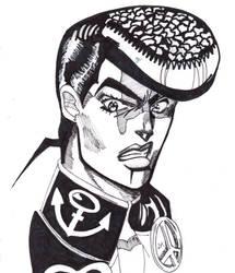 Josuke Higashikata by LorenaMontaperto