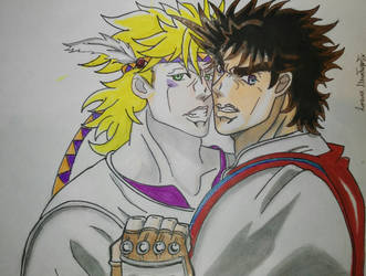 Caesar and Joseph  by LorenaMontaperto