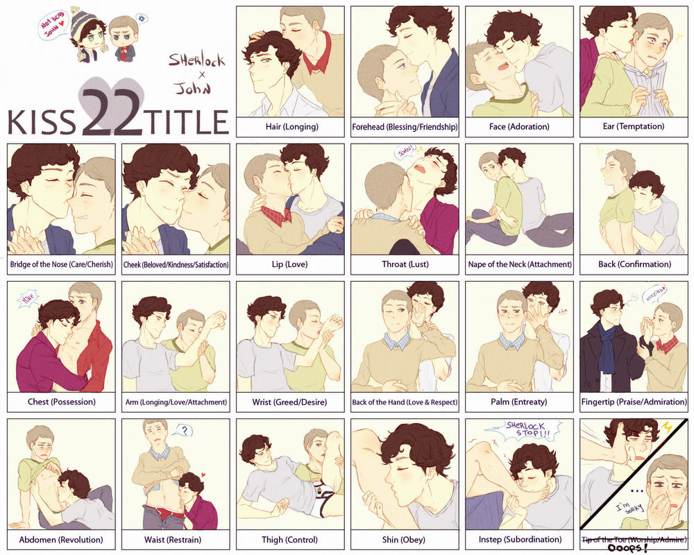 Kiss 22 Title Meme Johnlock by Nihui on DeviantArt