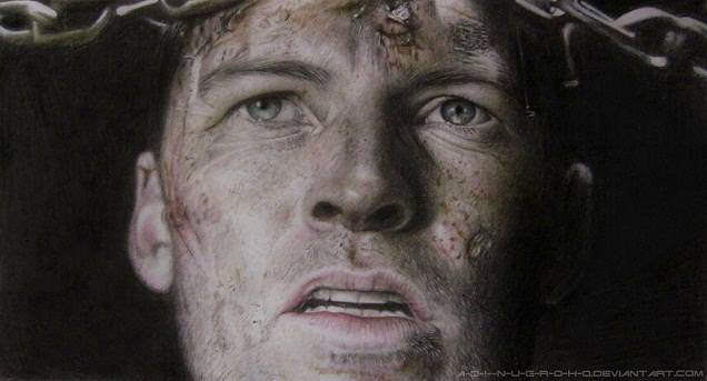 Sam Worthington - TERMINATOR SALVATION by A-D-I--N-U-G-R-O-H-O