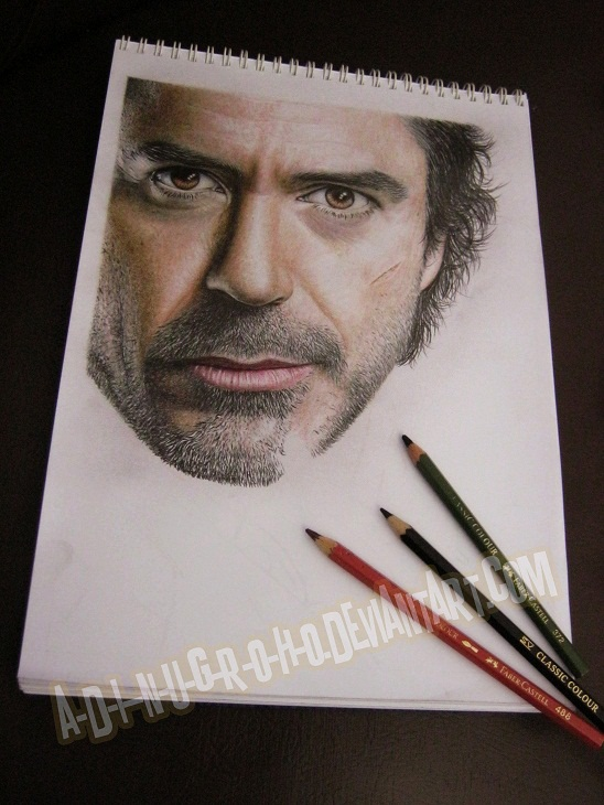 Robert DOWNEY Jr. WIP IIII by A-D-I--N-U-G-R-O-H-O