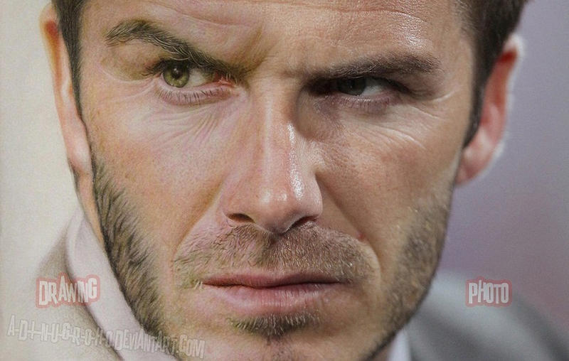 David Beckham Drawing N Photo by A-D-I--N-U-G-R-O-H-O