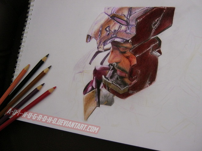 Tony Stark Iron Man 3 Work In Progress 4 by A-D-I--N-U-G-R-O-H-O