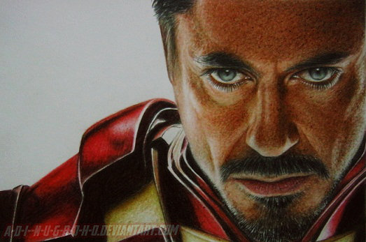 RDJ STARK by im-sorry-thx-all-bye