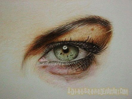 Lindsay Lohan Eye by im-sorry-thx-all-bye