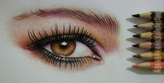 pixie lott eye by A-D-I--N-U-G-R-O-H-O