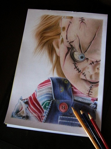 curse of CHUCKY on paper by A-D-I--N-U-G-R-O-H-O