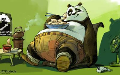 Kung Fu Panda by Jaywong001