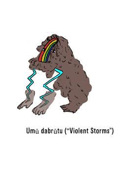 Umu dabrutu (Violent Storms)