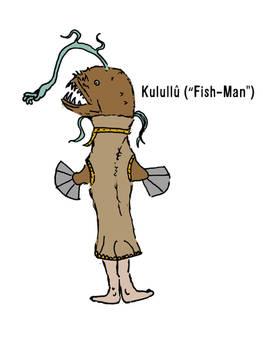 Kulullu (Fish-Man)