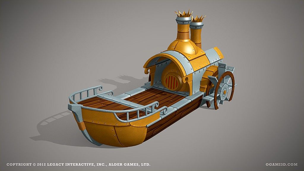 Ship by ogami3d