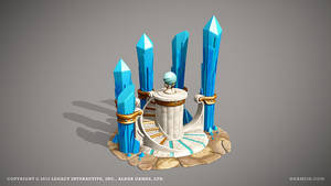 Temple of crystals by ogami3d