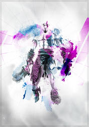 kratos by pen-tool