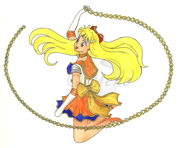 Seramyu Super Sailor Venus by mene
