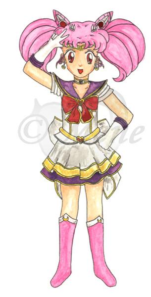 Seramyu Super Sailor Chibimoon by mene