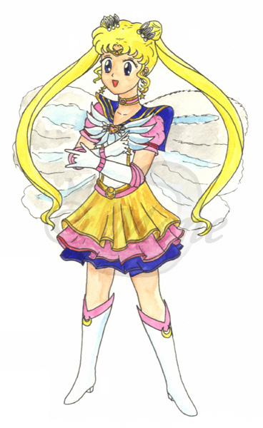 Seramyu Eternal Sailormoon by mene