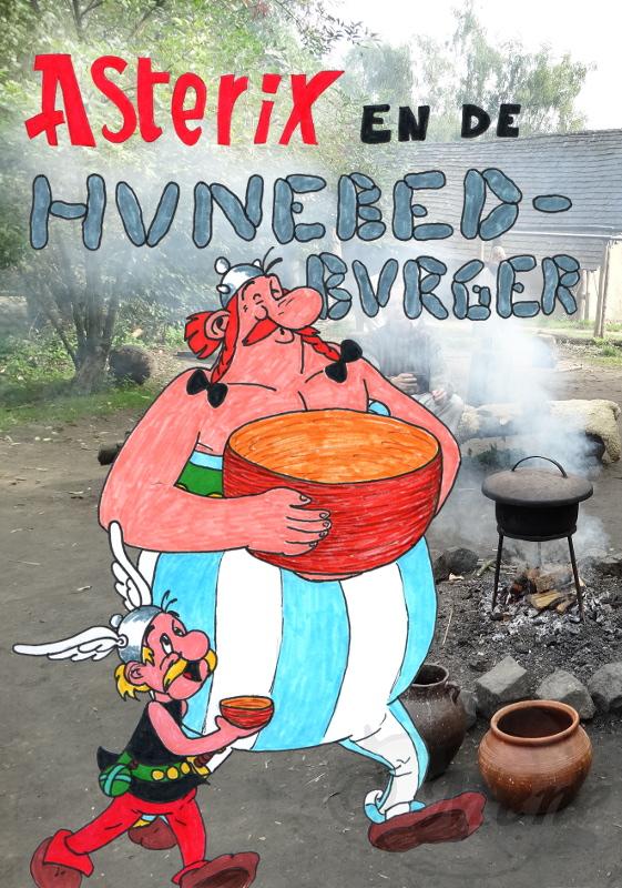 Asterix en de Hunebedburger by mene
