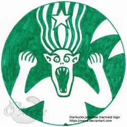 Starbucks logo: Japanese mermaid