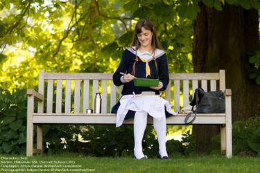 [Cosplay - Hakuouki SSL - Sen] Time for lunch by mene