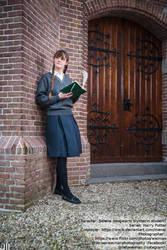 [Cosplay - Harry Potter] Slytherin Student by mene