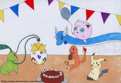 [Pokemon] Birthday party