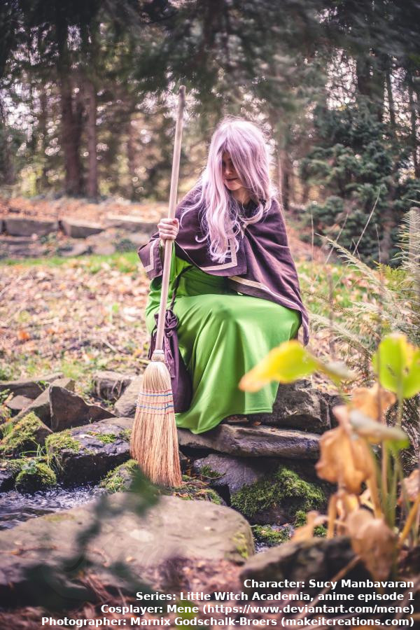 [Cosplay - Little Witch Academia - Sucy] Episode 1