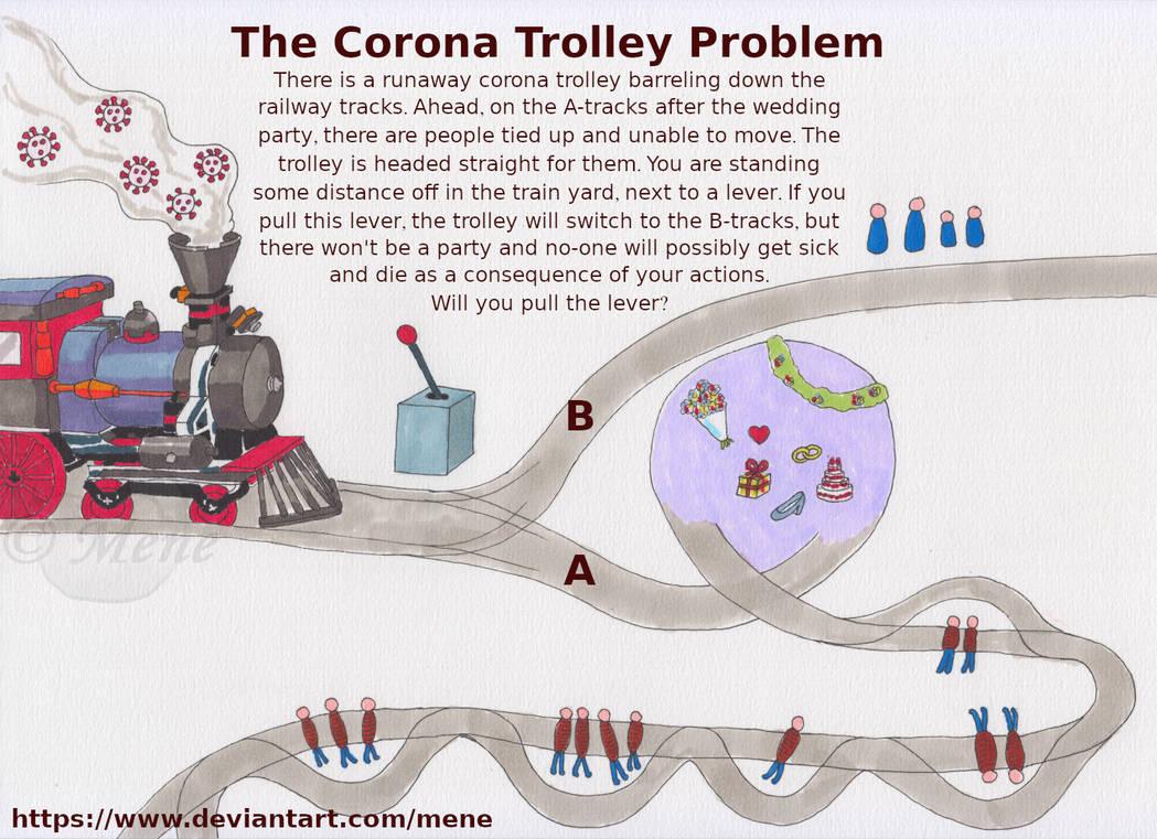 The Corona Trolley Problem