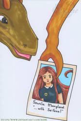 Sewiila's yearbook photo