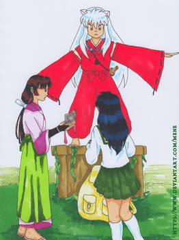 [Inuyasha] Don't go to the future!