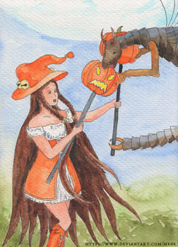 [Moonplanet] Sewiila and Seifruu during Halloween