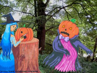 Mutanu celebrates Halloween