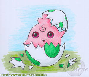 [Pokemon] Igglybuff hatches from an egg